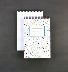 Public School Paper Co. Spiral Notebook: Splatter