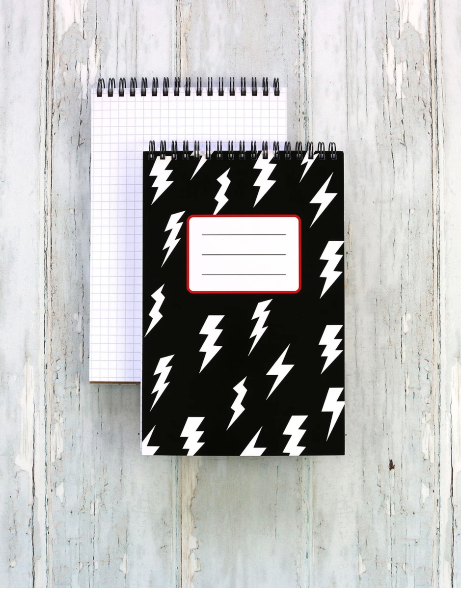 Spiral Notebook: Lightning