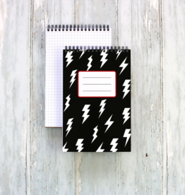 Public School Paper Co. Spiral Notebook: Lightning