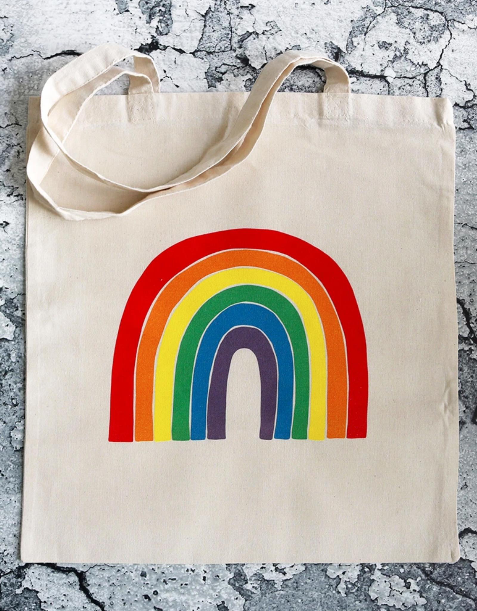 Public School Paper Co. Tote: Rainbow