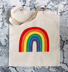 Public School Paper Co. Tote: Rainbow