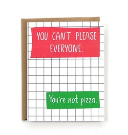 Card - Blank: You're not pizza