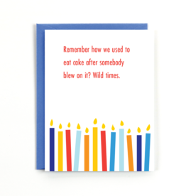 Card - Birthday: Remember how...