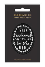 Old English Co. Patch: She Believed