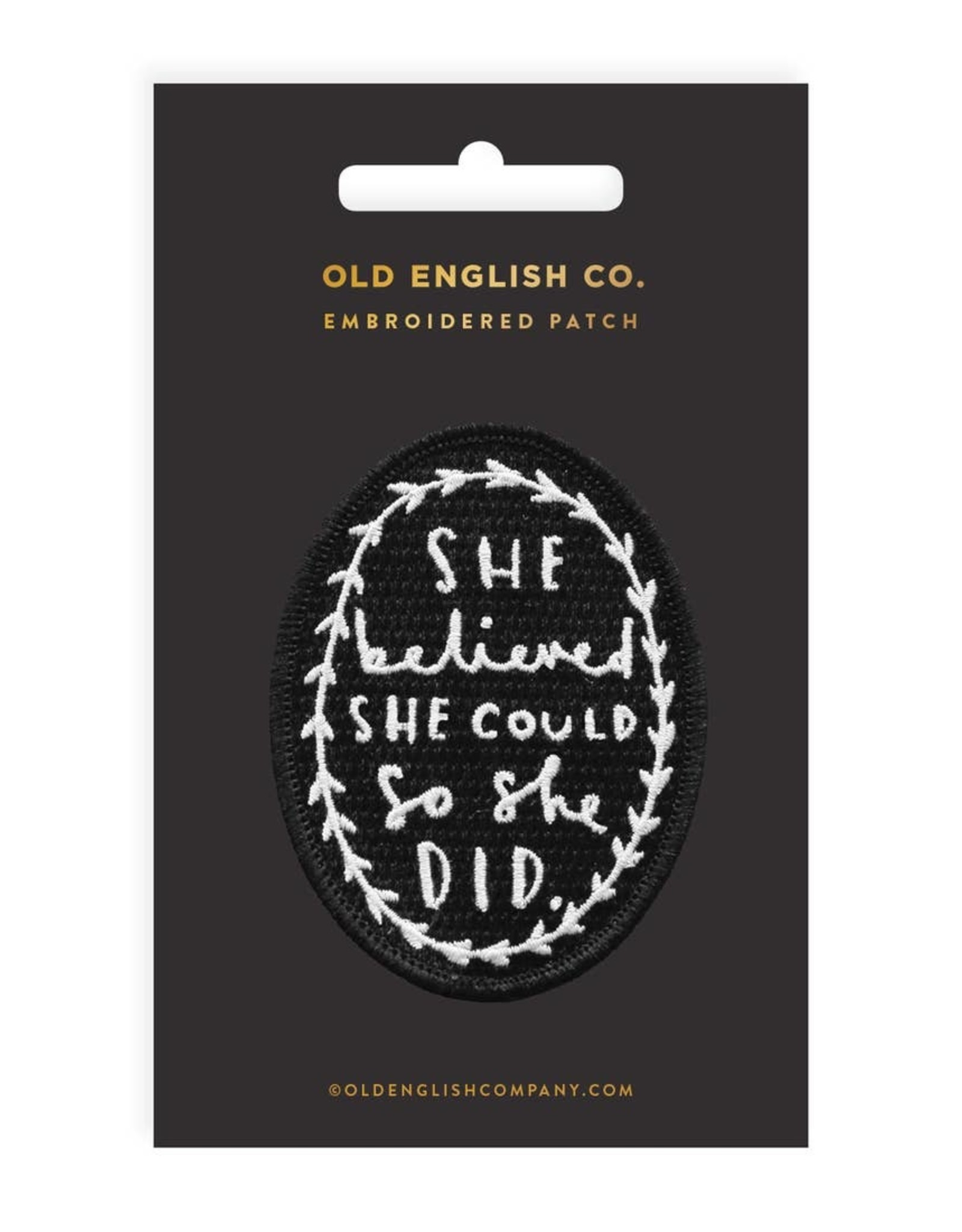 Patch: She Believed
