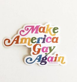 Sticker - Make America Gay Again