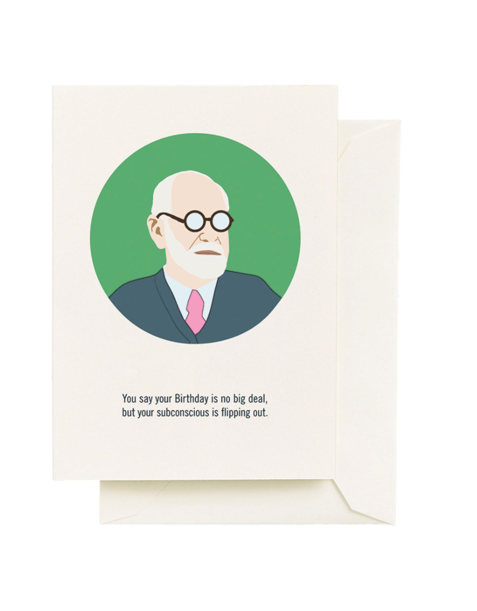 Seltzer Goods Card - Birthday: Freud
