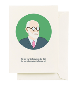 Seltzer Goods Card - Birthday: Freud