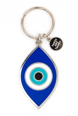 These Are Things Enamel Keychain - Evil Eye