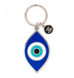 Enamel Keychain - Evil Eye