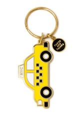 These Are Things Enamel Keychain NYC