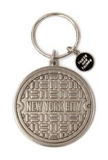 Enamel Keychain NYC