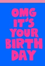 Egg Press Manufacturing Card - Birthday: OMG