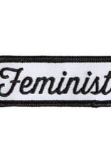 These Are Things Feminist Patch (black and white)