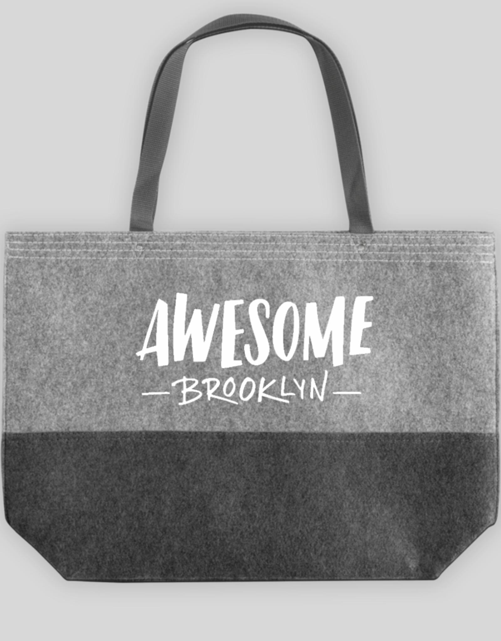 Awesome Brooklyn Felt Tote