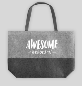 Awesome Brooklyn Felt Tote