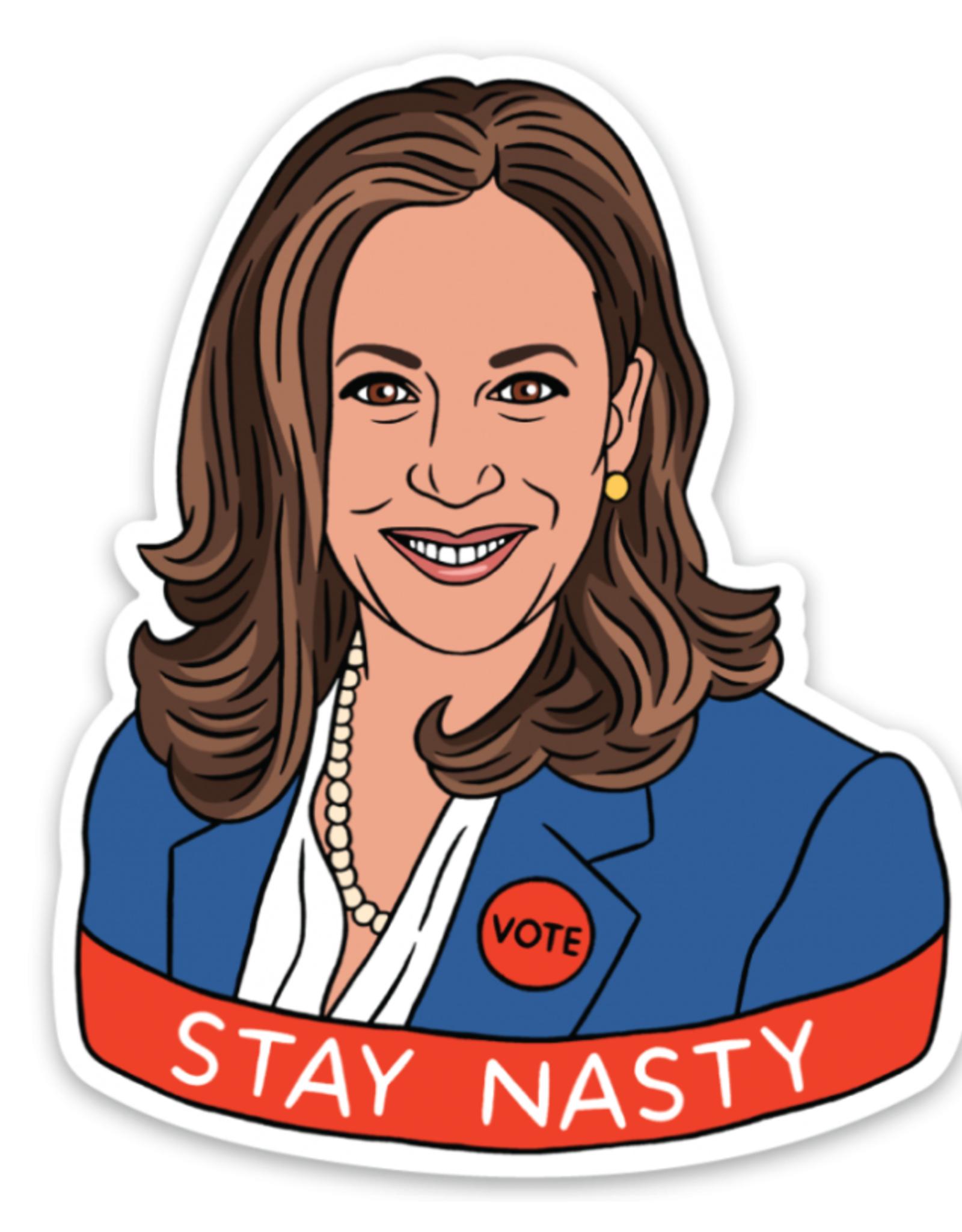 Sticker: Stay Nasty Kamala