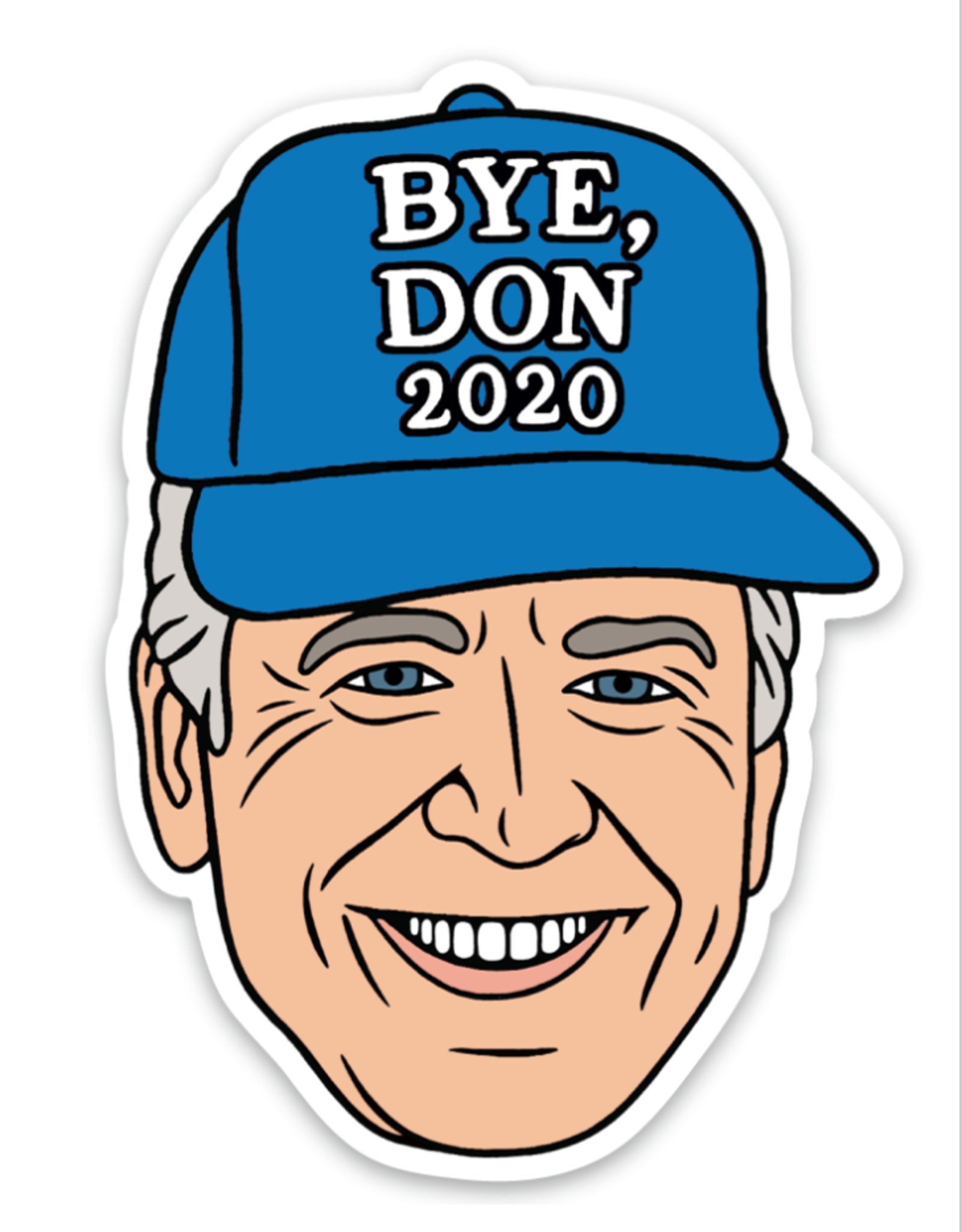 Sticker: Bye Don