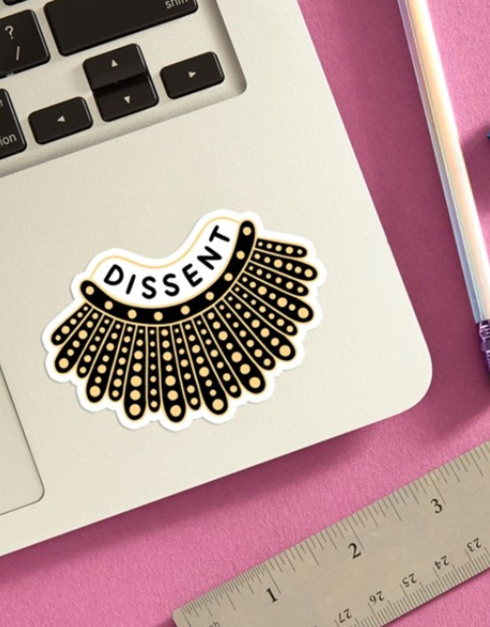 The Found Sticker: Dissent Collar