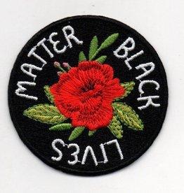 Patch: Black Lives Matter rose