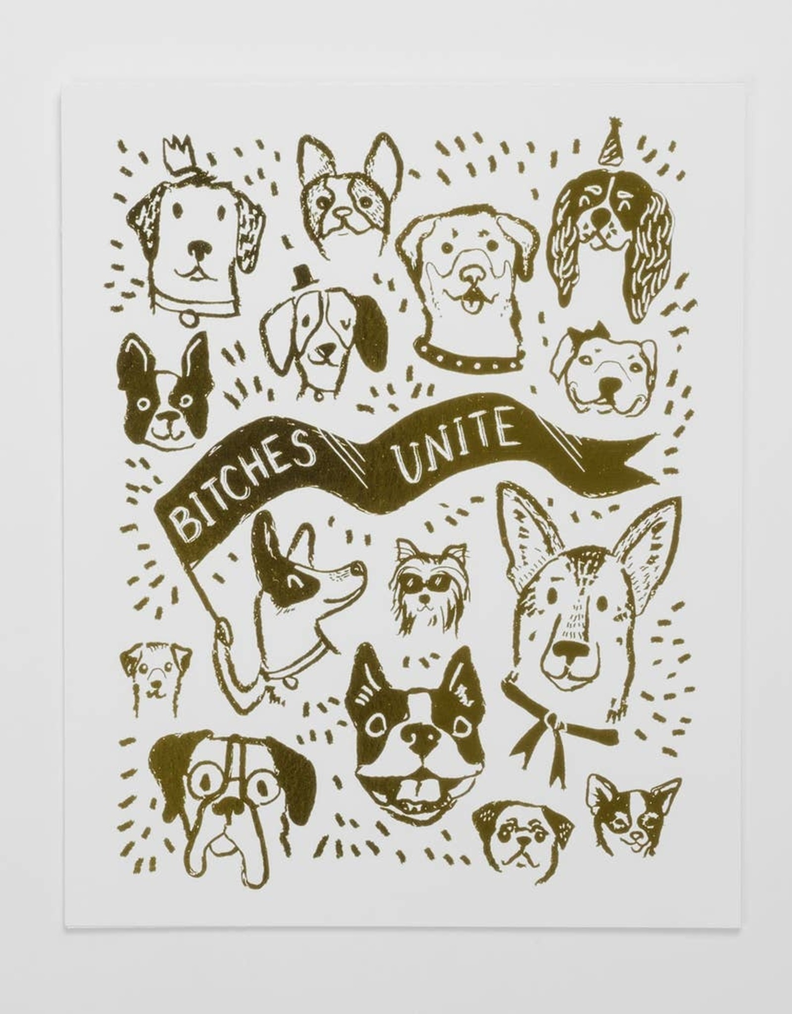 Bitches Unite 8x10 print