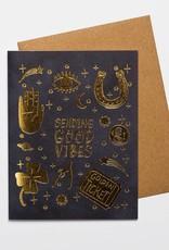 Card - Blank: Sending good vibes
