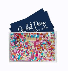 Wallet: Confetti card holder