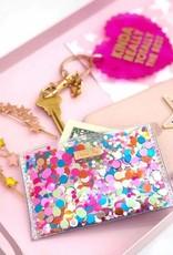 Wallet: Confetti card holder