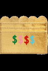Wallet: $$$ card holder