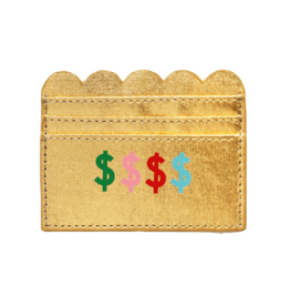 Wallet: $$$ card holder