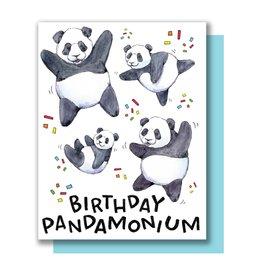 Paper Wilderness Card - Birthday: Pandamonium