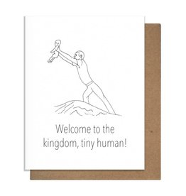 Card - Baby: Welcome to the kingdom