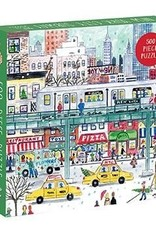 Chronicle Books Puzzle 500 piece Michael Storrings NYC Subway