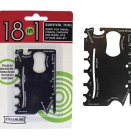 18 in 1 Pocket Survival Tool