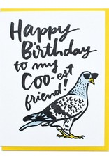 Card - Birthday: Coo-est friend