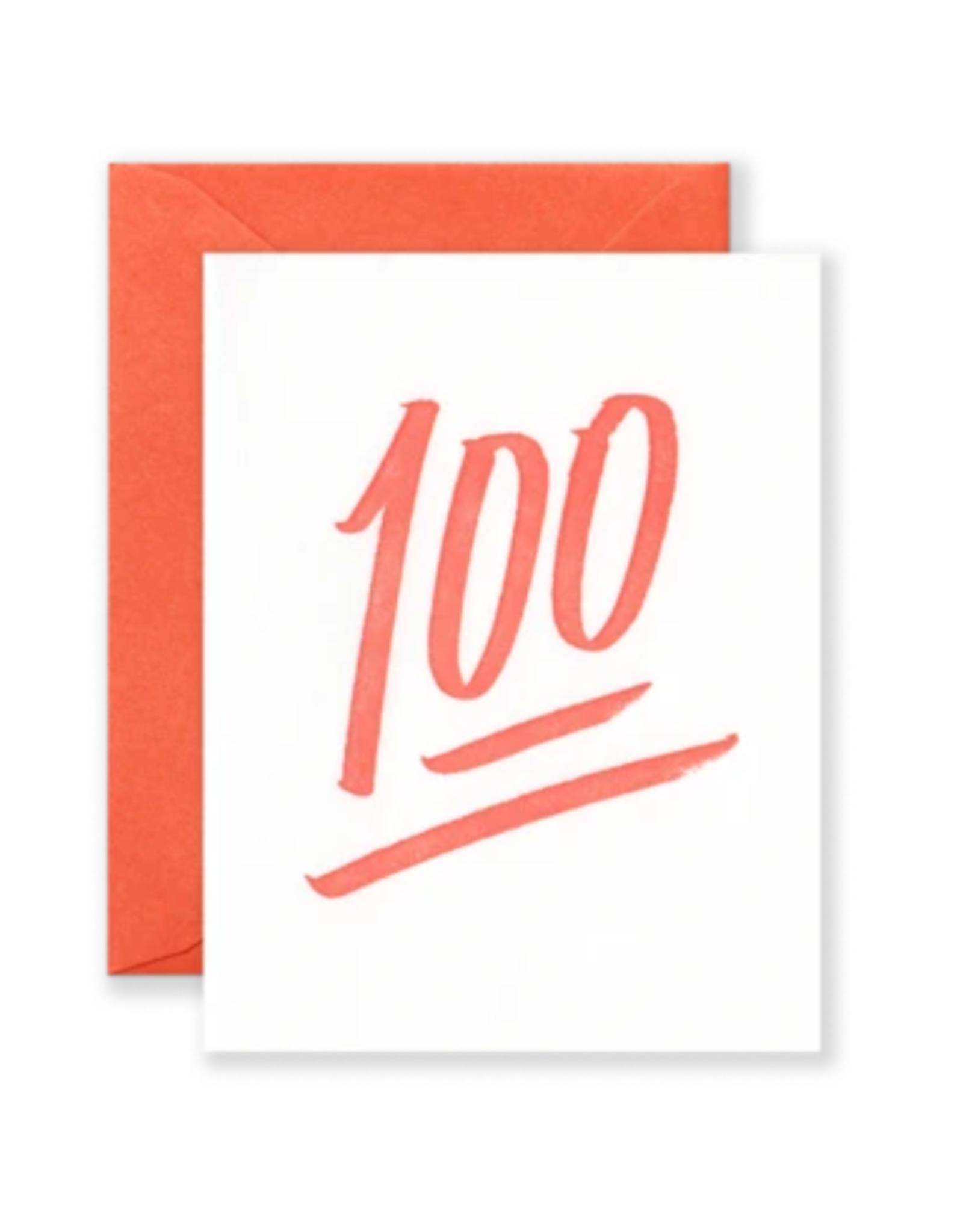 Card - Blank: 100