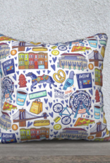 awesome brooklyn Awesome Pillows