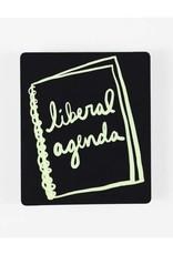 Made by Nilina Sticker: Liberal Agenda