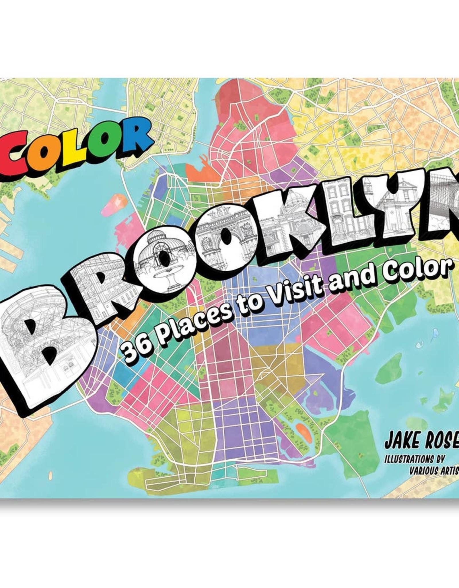 Brooklyn Coloring Book