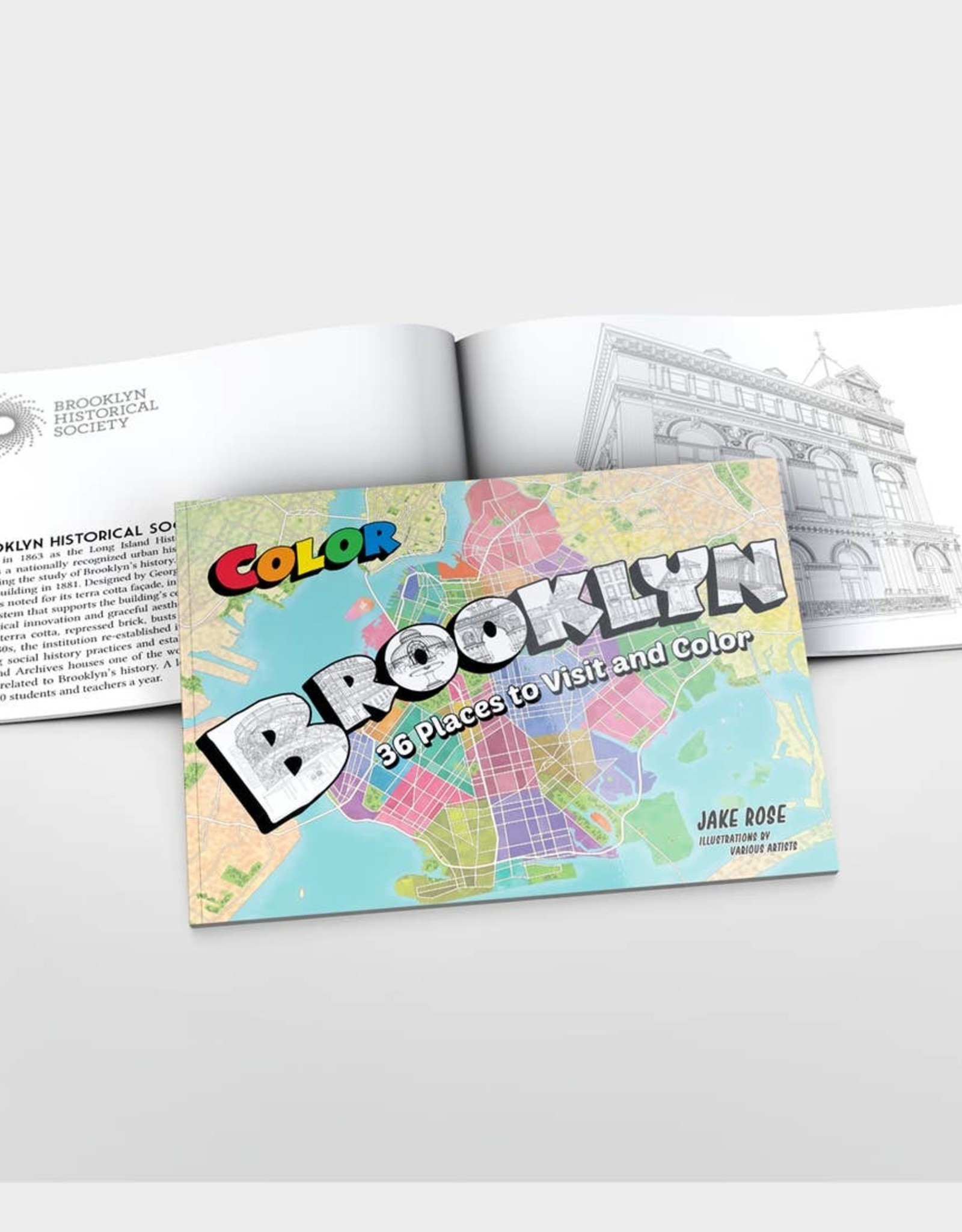 Color Our Town Brooklyn Coloring Book