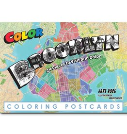 Brooklyn Coloring Postcards