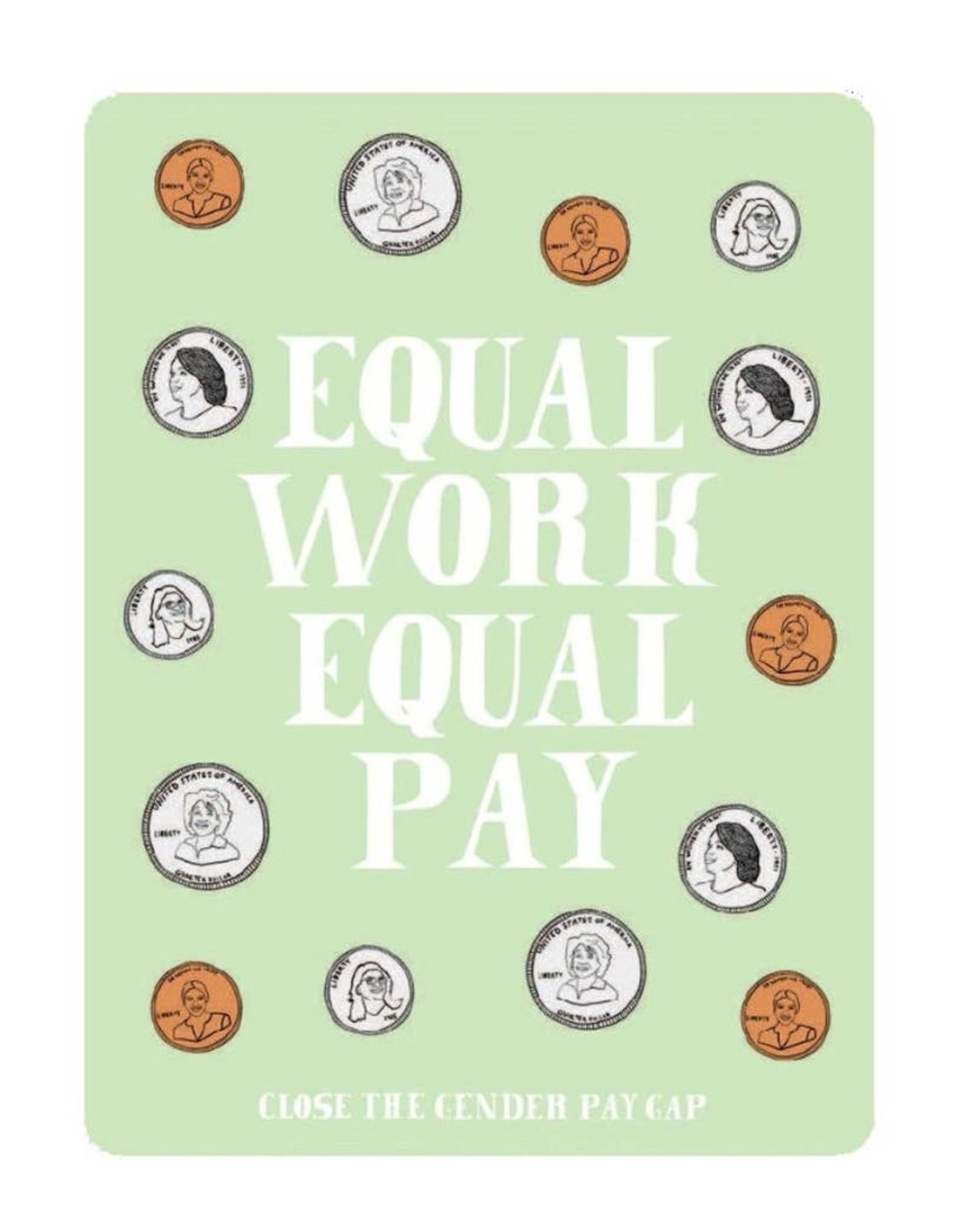 Sticker: Equal Pay