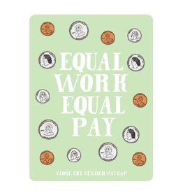 Made by Nilina Sticker: Equal Pay
