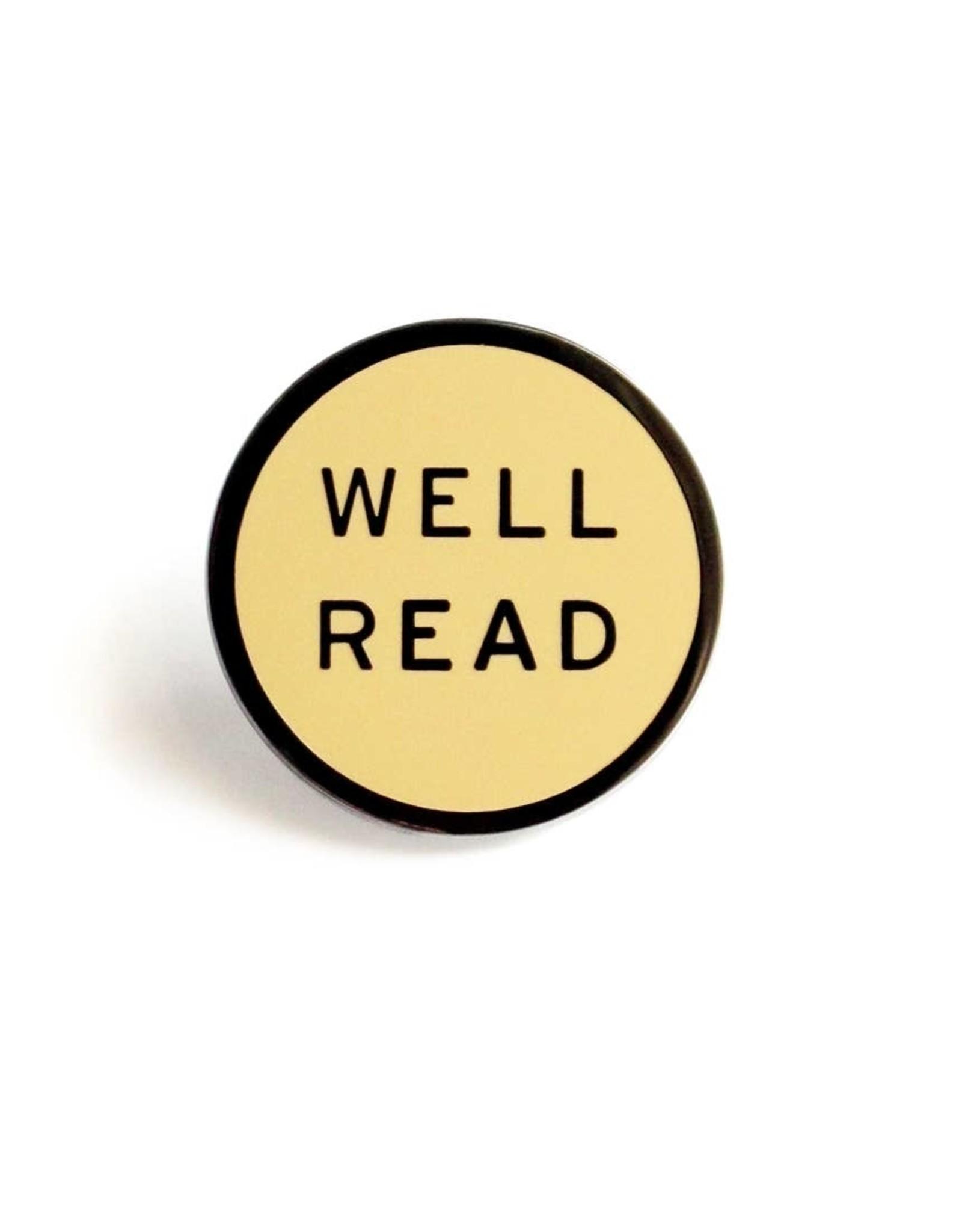 Enamel Pin: Well Read