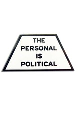 Word For Word Factory Enamel Pin: Personal is Political