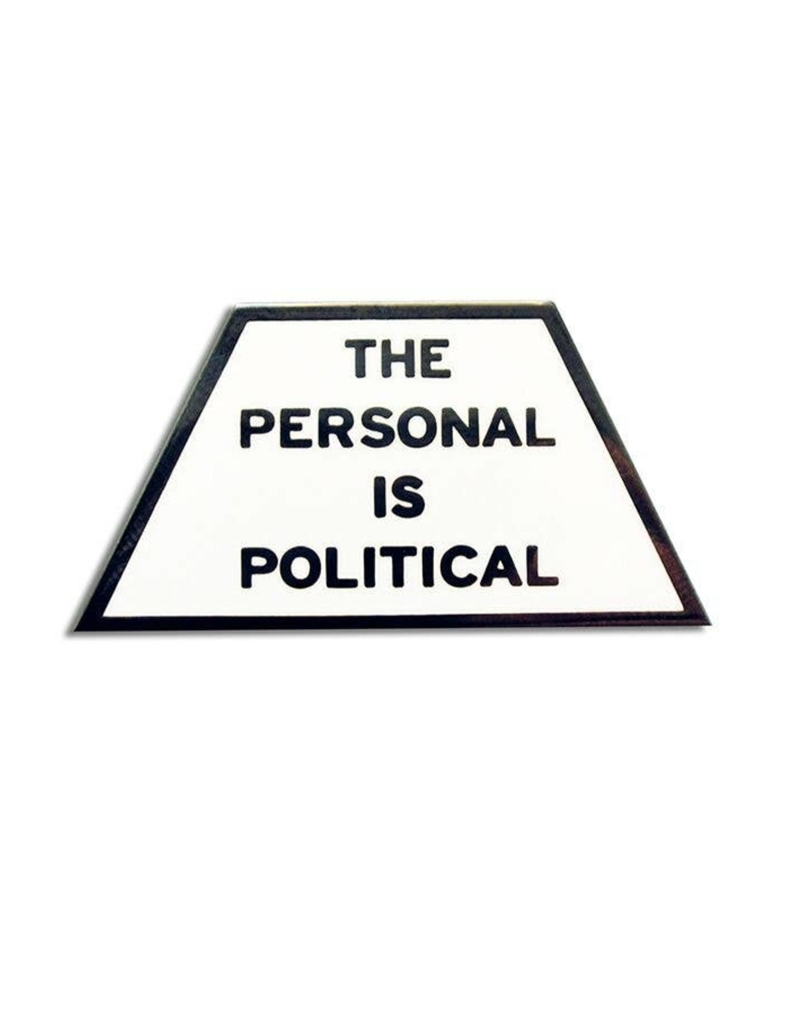 Enamel Pin: Personal is Political