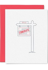 Little goat paper company Card - Blank: Moving sign