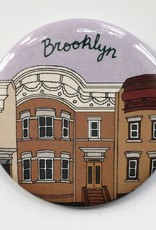 Made by Nilina Magnet: Brooklyn Houses