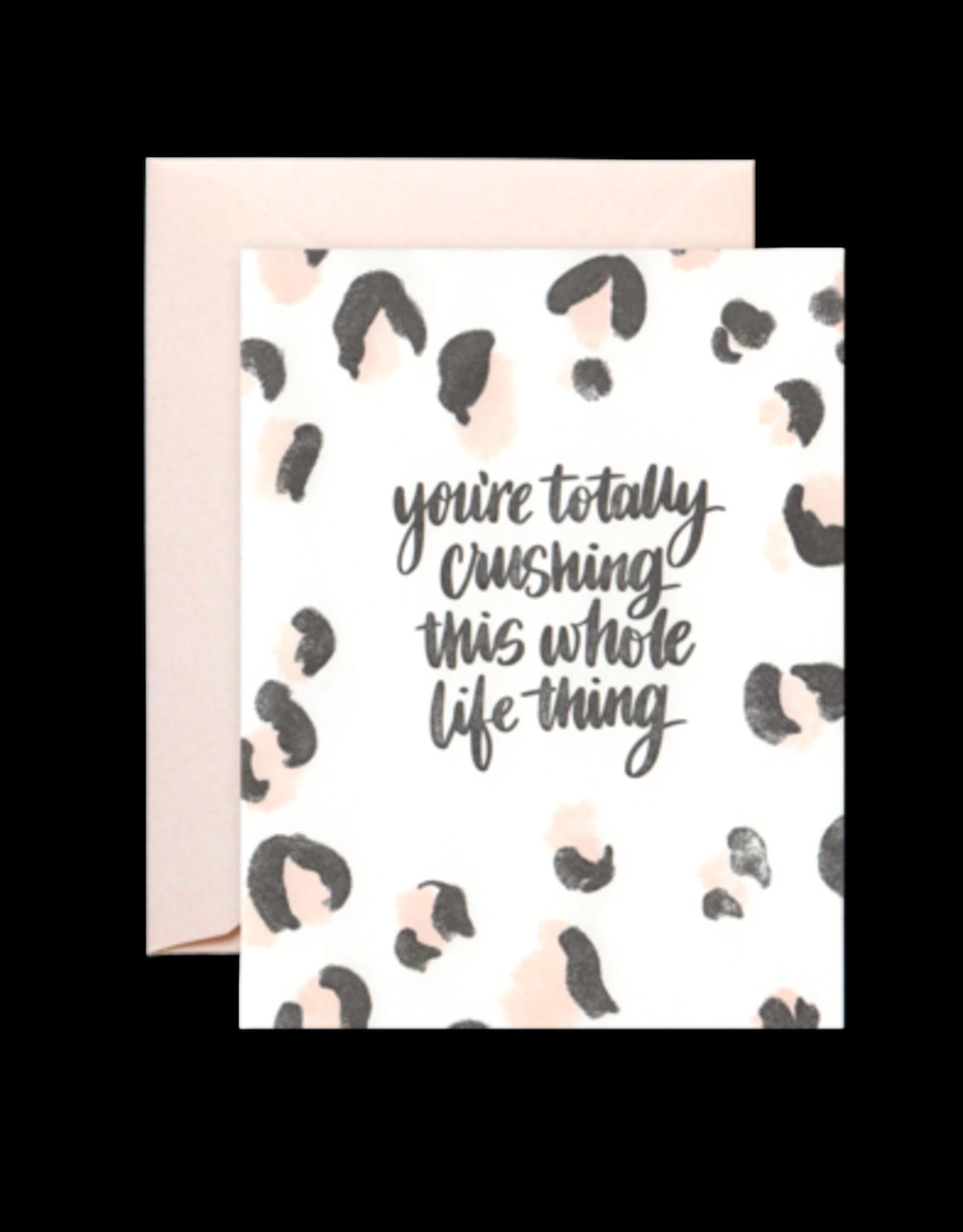 Card - Blank: Crushing Life