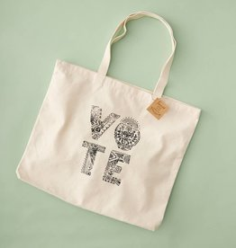Love Wild Design Tote: VOTE